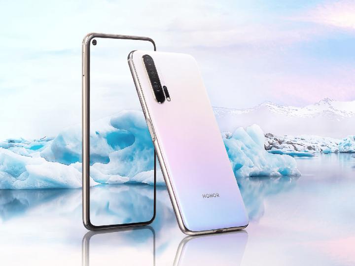 Honor 20 Pro Dual Sim 256GB Icelandic Frost