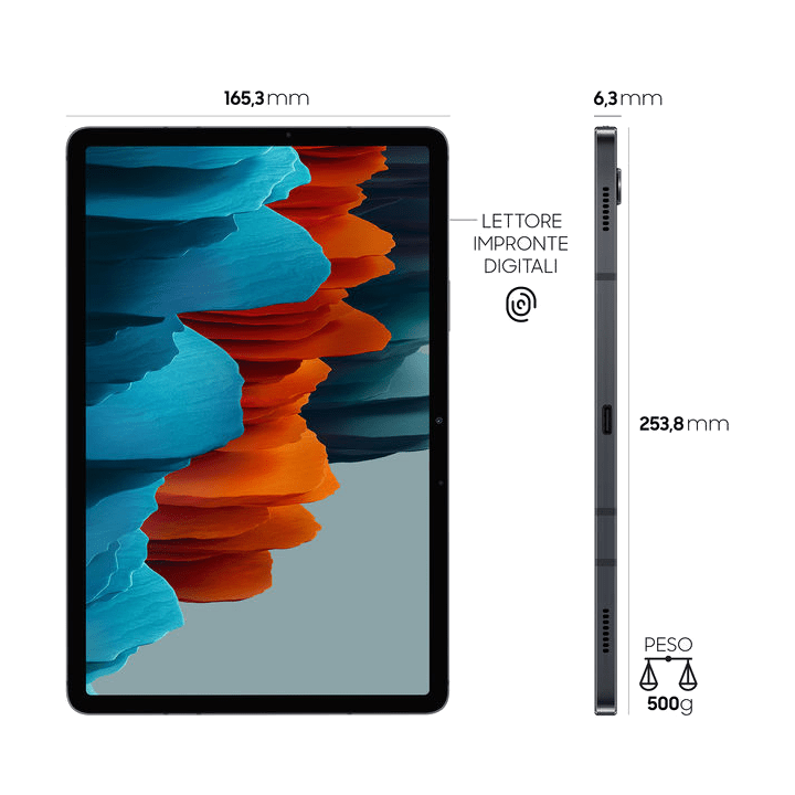 Samsung Tab S7 LTE Mystic Black